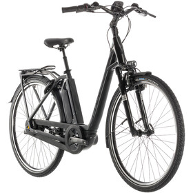 Cube Town Hybrid EXC RT 500 E-City Bike Easy Entry black